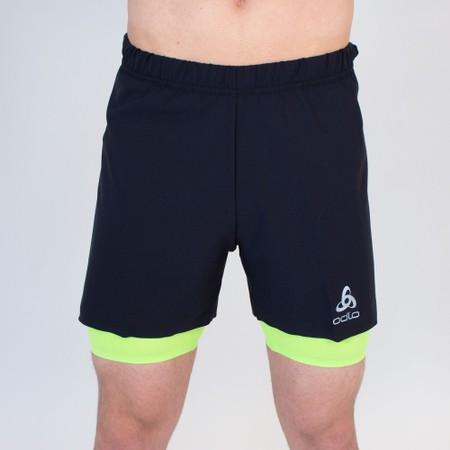 Odlo Zeroweight Twin 5in Shorts #5