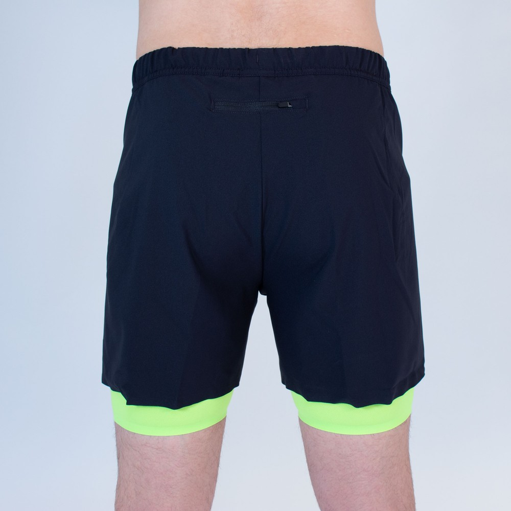 Odlo Zeroweight Twin 5in Shorts #6