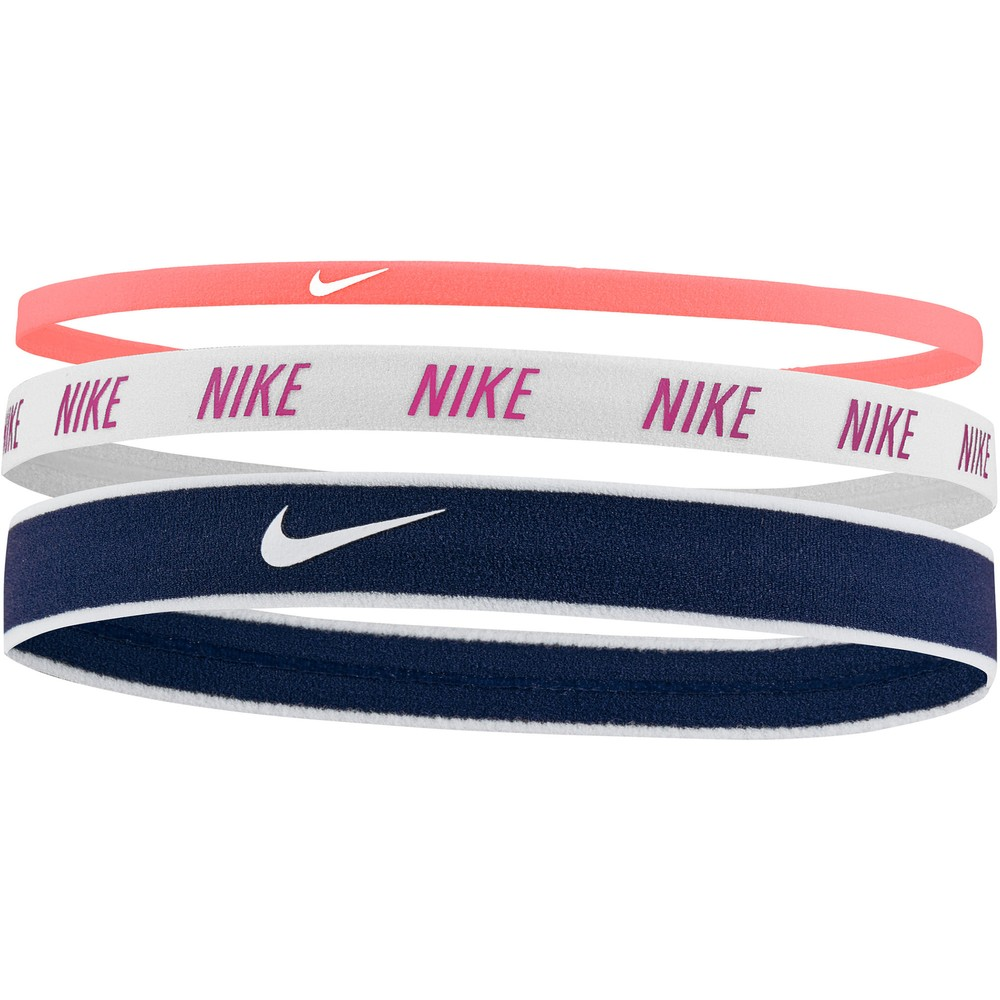 Nike Mixed Width Hairbands 3 Pack #2