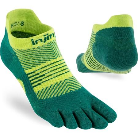 Injinji Run Lightweight No Show Toe Socks #8