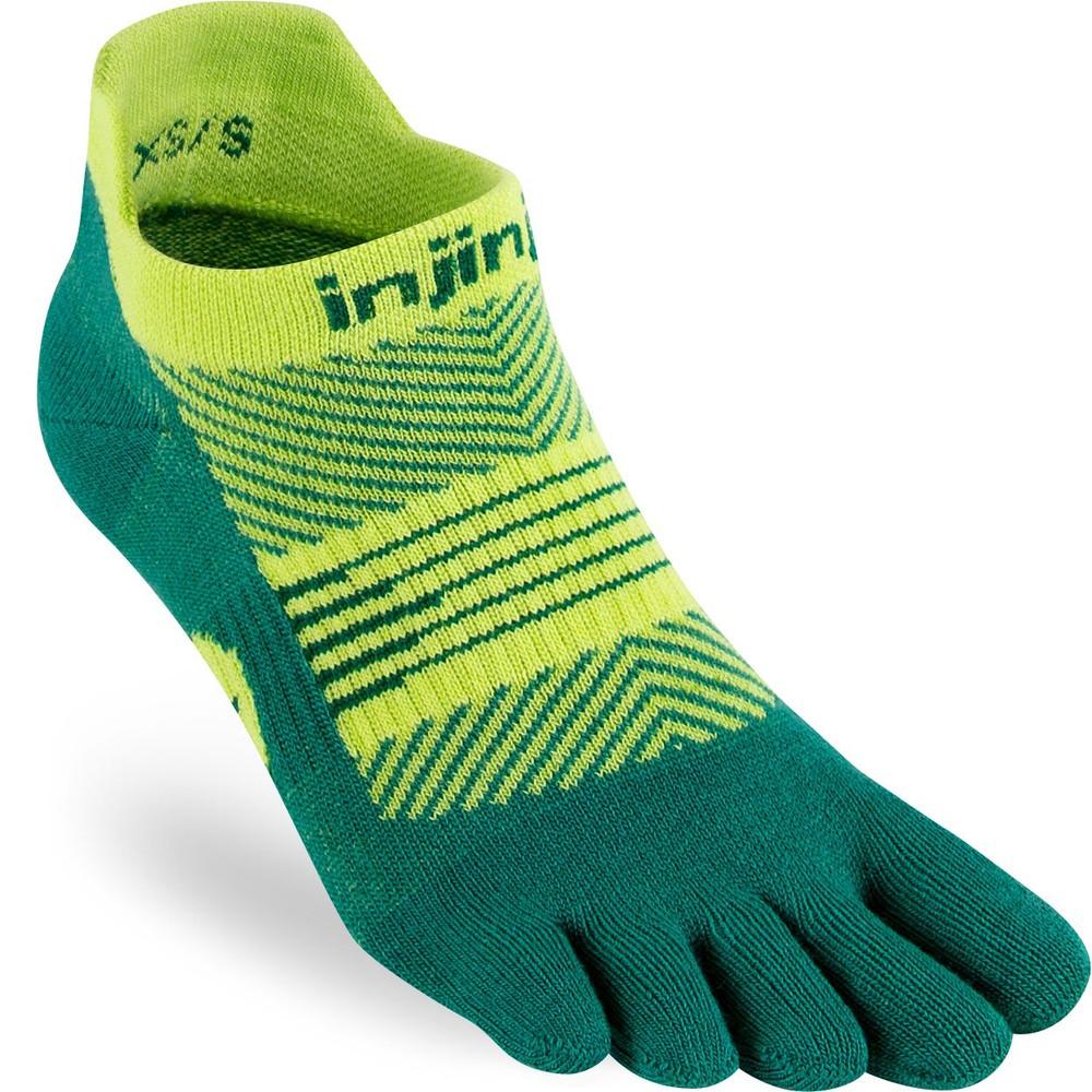 Injinji Run Lightweight No Show Toe Socks #9