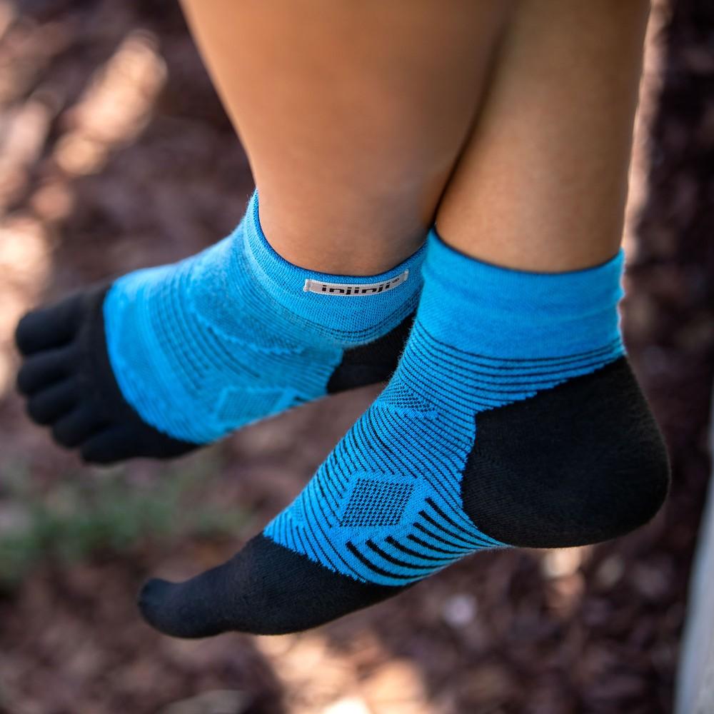 Injinji Run Leightweight Mini-Crew Toe Socks #6
