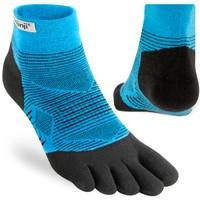 INJINJI  Run Leightweight Mini-Crew Toe Socks