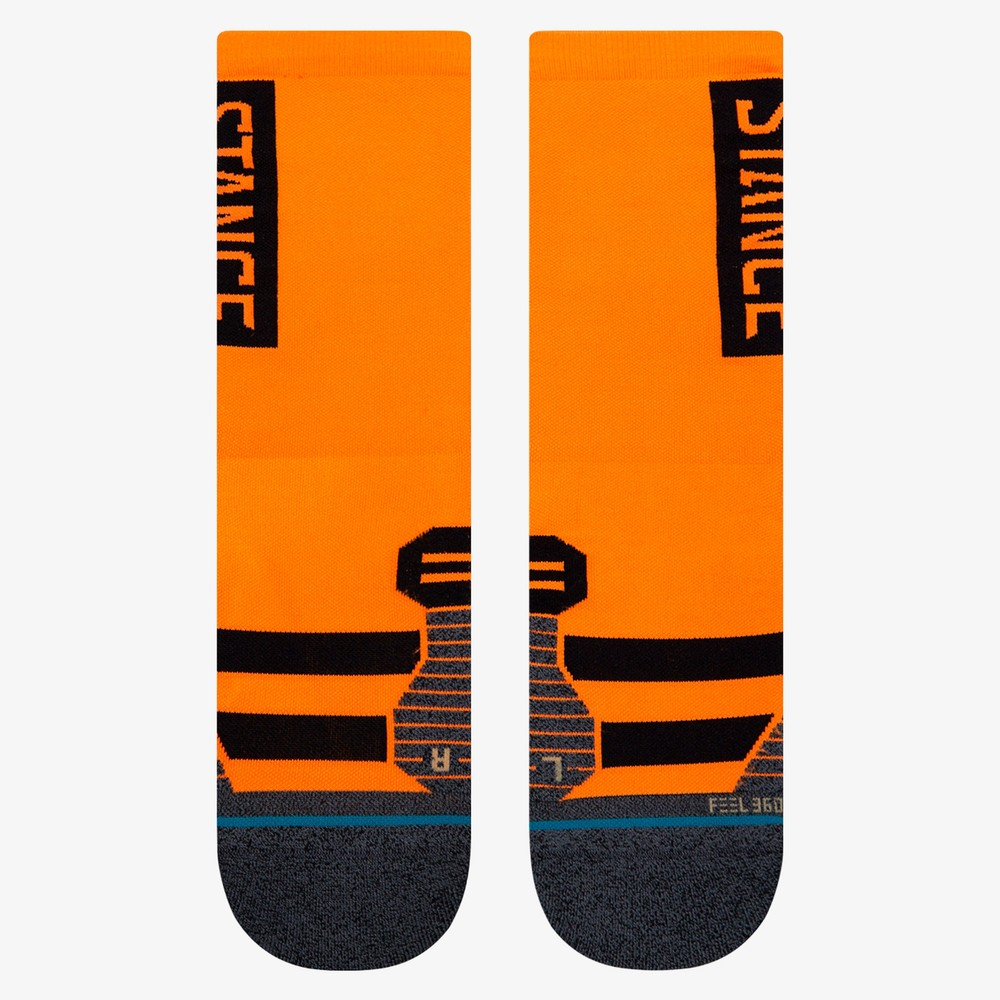 Stance Run Feel 360 With Infiknit Crew Socks #12