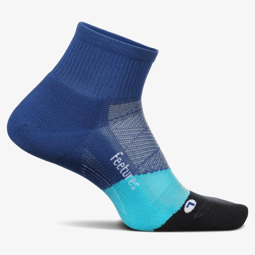 Feetures Elite Light Cushion Quarter Socks #9