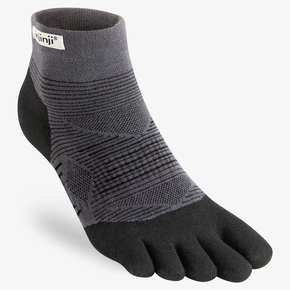 Injinji Run Lightweight Mini-Crew Toe Socks #1