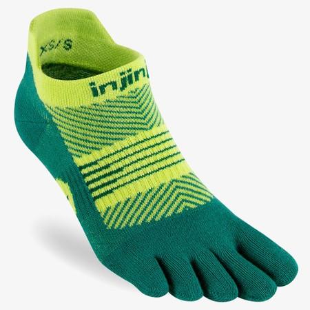 Injinji Run Lightweight No Show Toe Socks #7