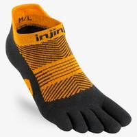 INJINJI  Run Lightweight No Show Toe Socks