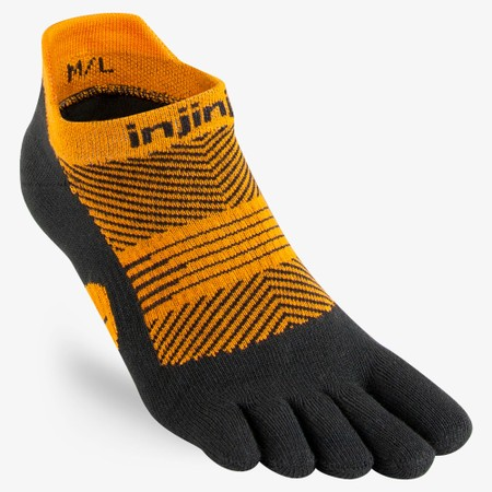 Injinji Run Lightweight No Show Toe Socks #1