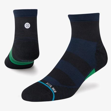 Stance Run Feel 360 With Infiknit Quarter Socks #1