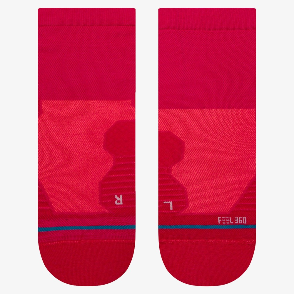 Stance Run Feel 360 With Infiknit Ultralight Cushion Quarter Socks #2