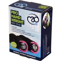 FITNESS-MAD  Pro Hand Weight With Strap 0.5Kg