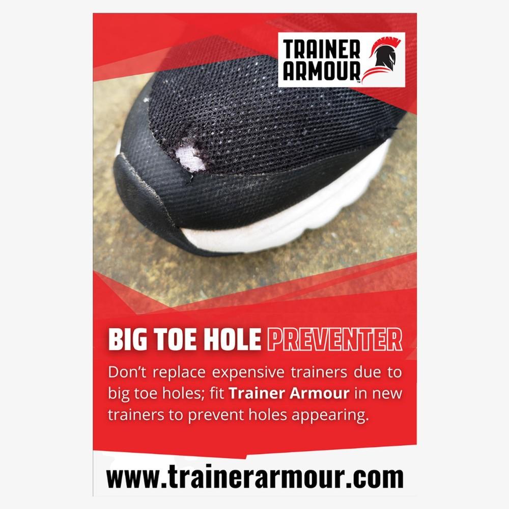 Trainer Armour Big Toe Hole Preventer #1