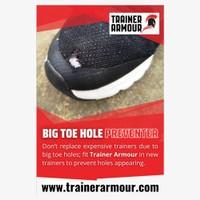 TRAINER ARMOUR  Big Toe Hole Preventer