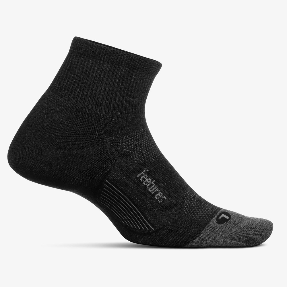 Feetures Merino 10 Light Cushion Qtr #1