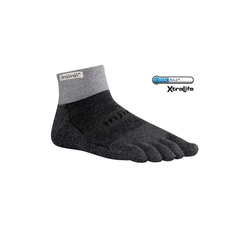 Injinji Trail MW Mini Crew Toe Socks #1
