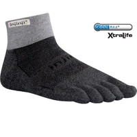 INJINJI  Trail MW Mini Crew Toe Socks