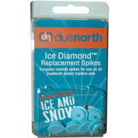 DUE NORTH Ice Diamond 6 Pack Replacement Spikes