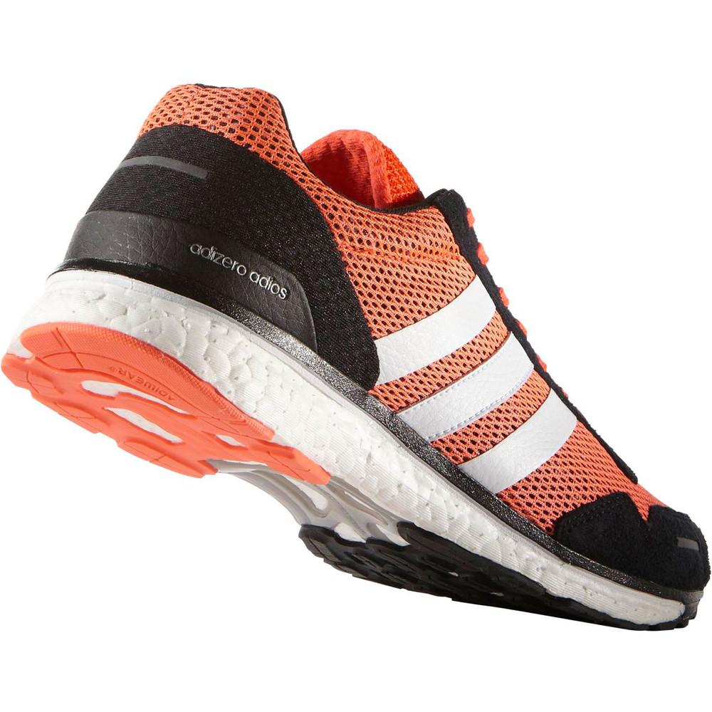 Buy Men's Adidas Adizero Adios Boost 3 in Orange | Run and ...