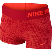 Junior Nike Pro Cool Allover Print 3in Shorts Girls'