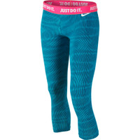 Junior Nike Leg-a-see Allover Print Cropped Capris Girls'
