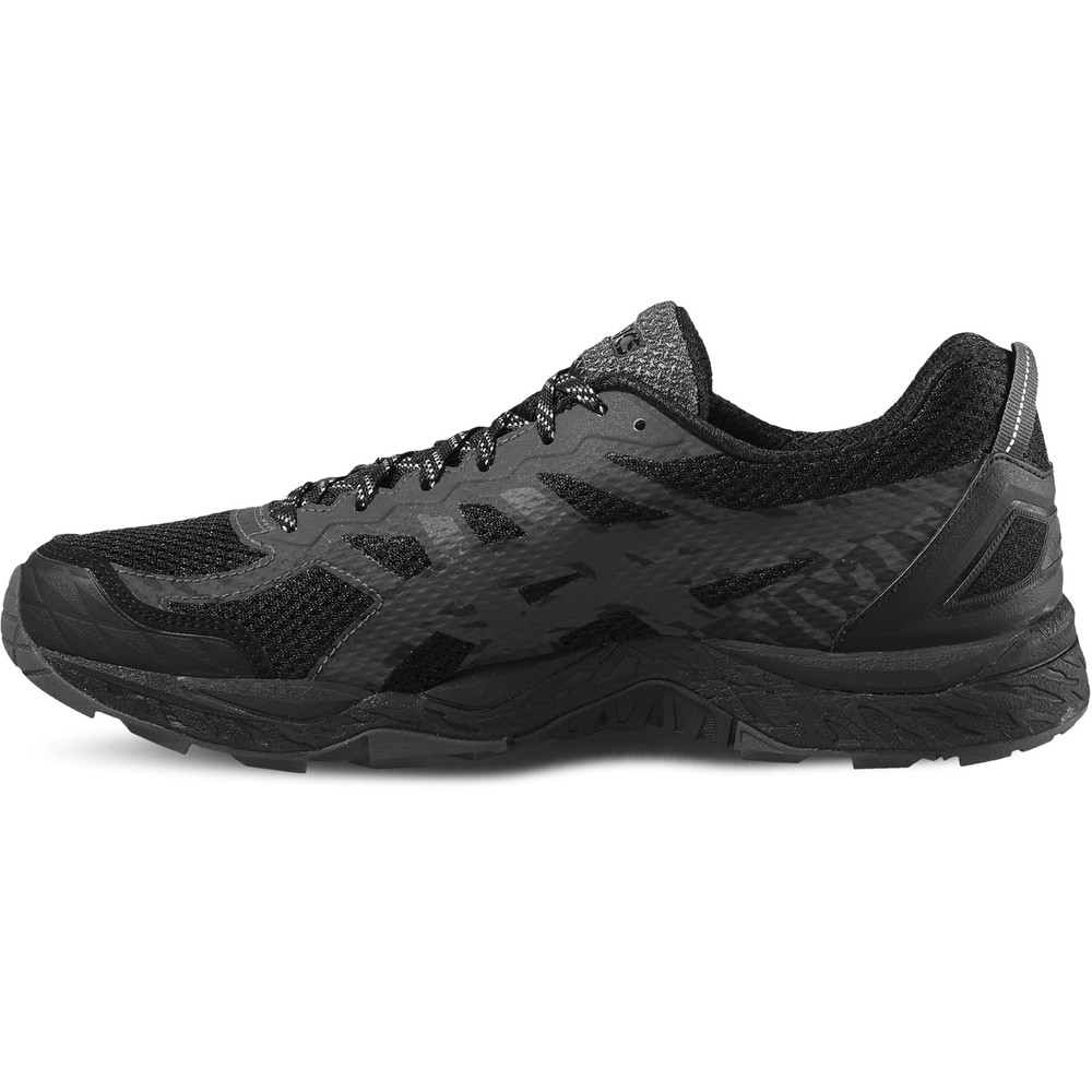 buy men 39 s asics gel fuji trabuco 5 gtx in black run and. Black Bedroom Furniture Sets. Home Design Ideas