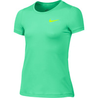 Junior Nike Pro Cool Short Sleeve Tee Girls