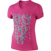 Junior Nike V-neck Short Sleeve Tee Girls