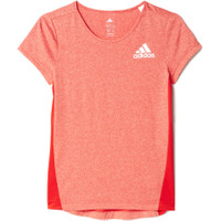 Junior Adidas Running Short Sleeve Tee Girls'