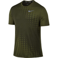 Nike Relay Short Sleeve Tee Green