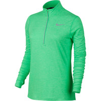 Nike Element Half Zip Long Sleeve Tee