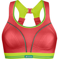 Women's Shock Absorber Ultimate Run Bra Coral