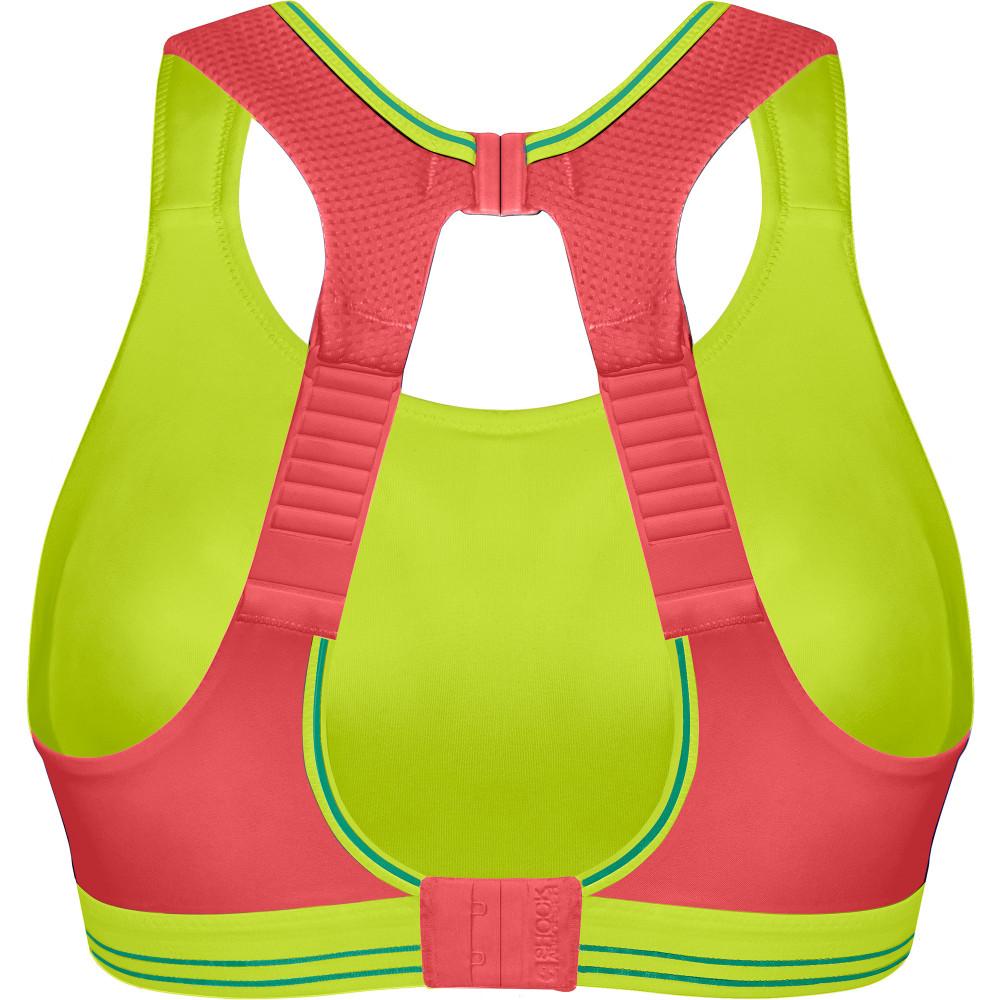 buy women 39 s shock absorber ultimate run bra coral in red. Black Bedroom Furniture Sets. Home Design Ideas