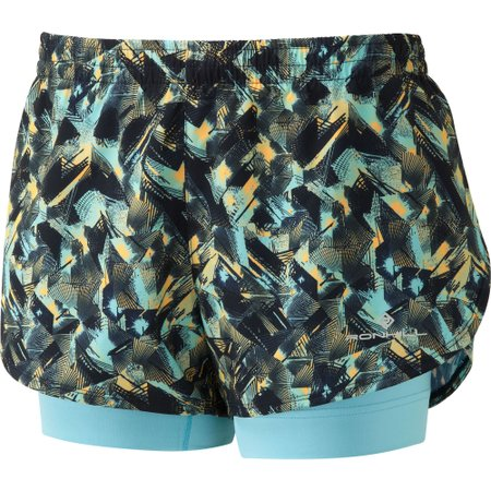 Women's Ronhill Momentum Twin Shorts #1