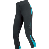 Gore Essential Capris Black/blue