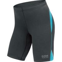 Women's Gore Essential Lycra Shorts Black/Blue