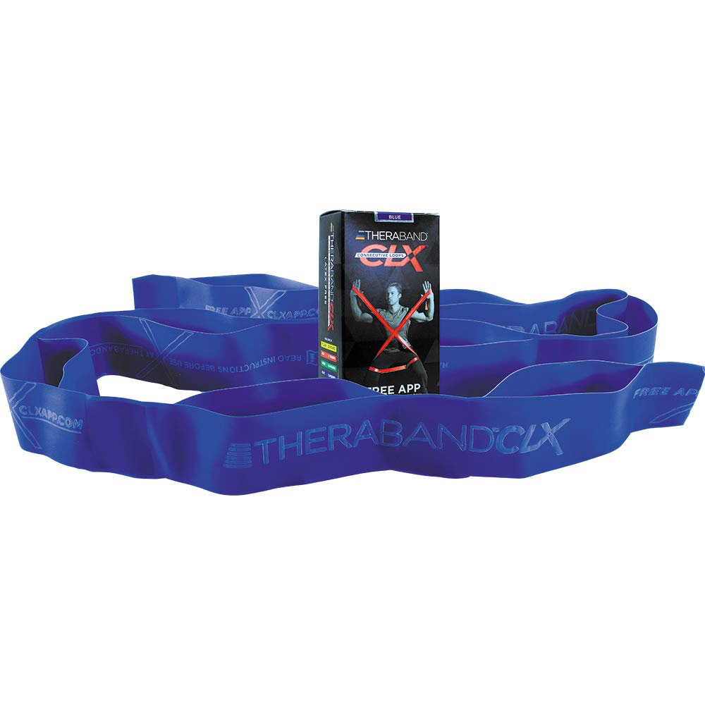 Thera-Band CLX Looped Resistance Band BLUE #1