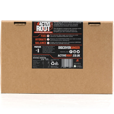 Active Root Original Ginger Flavour Sachet (6 X 35g) #3