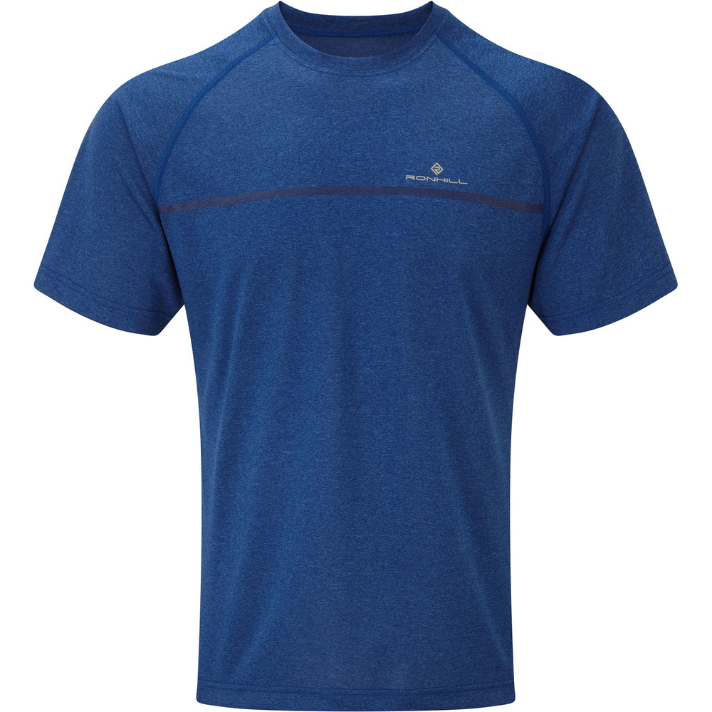 Ronhill Everyday Short Sleeve Tee Blue #1