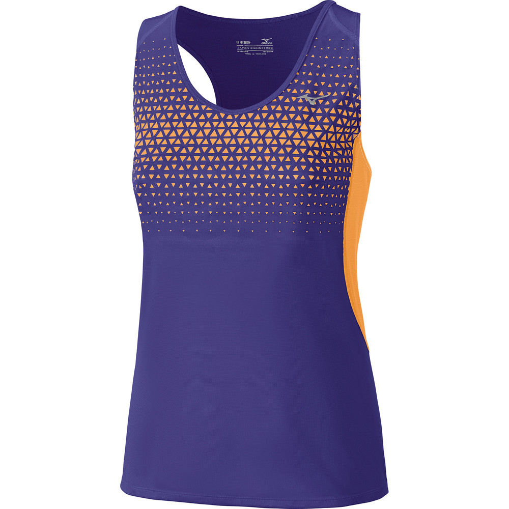 Women's Mizuno Cooltouch Phenix Vest Purple #1