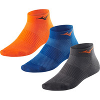 Mizuno Training Mid 3 Pair Pack Socks