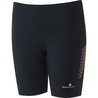 Ronhill Stride Stretch Short Black/purple
