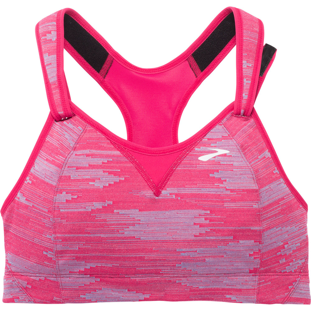 fdc0f5623836a Buy Women's Brooks Rebound Racer Bra in Pink | Run and Become