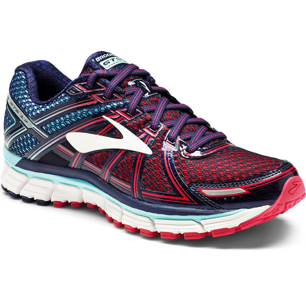 buy womens brooks gts 17 in blue run and become