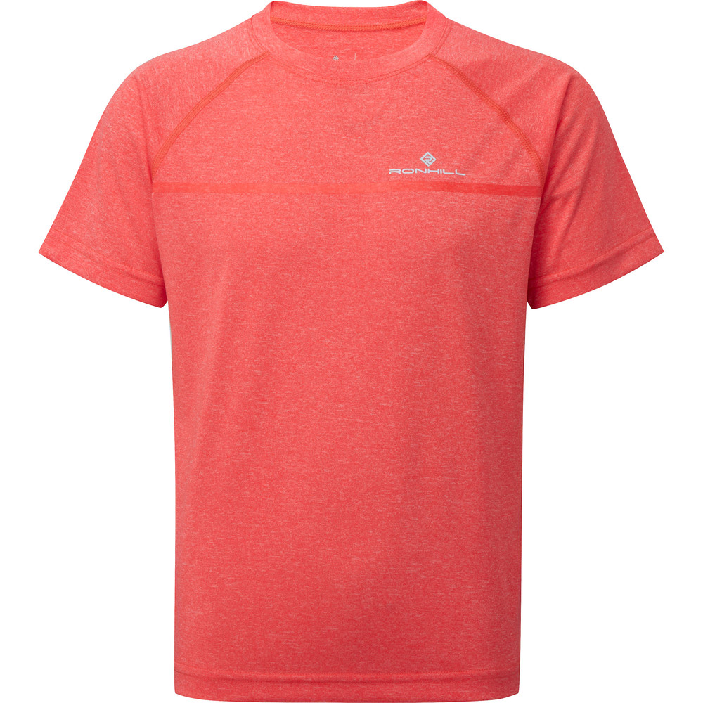 Ronhill Everyday Short Sleeve Fluro Pink #1