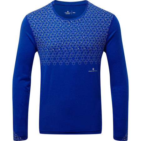 Men's Ronhill Momentum Sirius Long Sleeve Tee #1