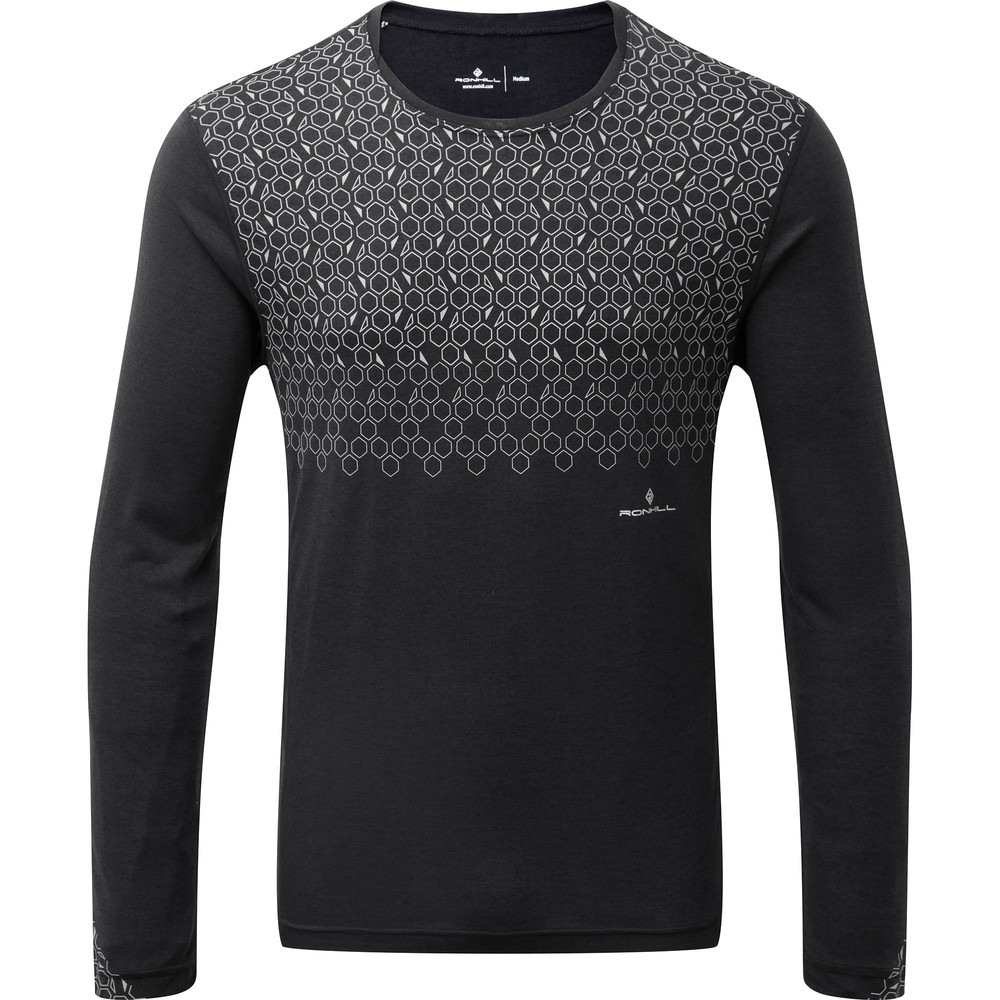 Ronhill Momentum Sirius Long Sleeve Black #1