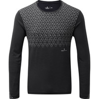 RONHILL  Momentum Sirius Long Sleeve Black