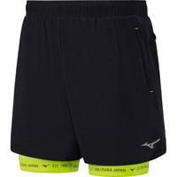 MIZUNO  Mujin Square 7.5in 2in1  Shorts