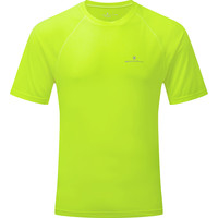 Ronhill Momentum Short Sleeve Tee Fluro Yellow